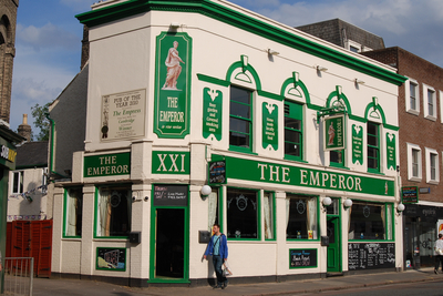 Emperor Pub Cambridge © Rita Smith 2012